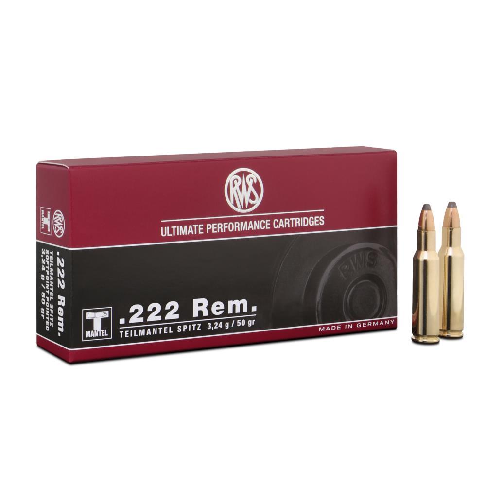 Balles 222 REM TMS 3.2G