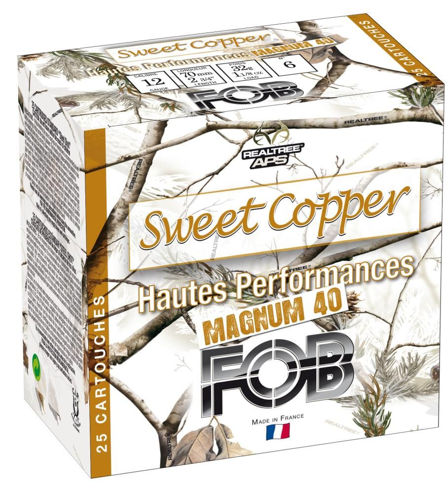 Cartouches Sweet Copper 12/76 40G