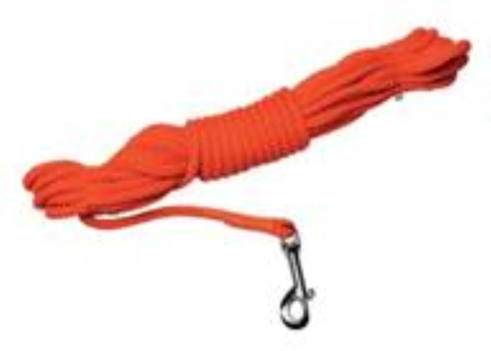 Longe corde orange 10 m