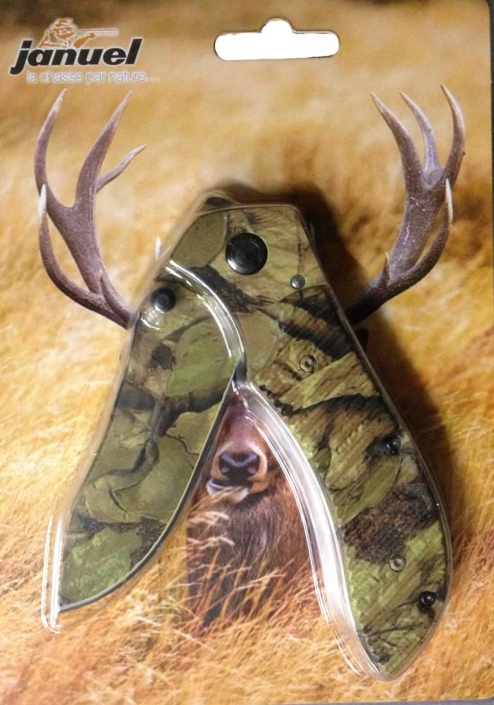 Couteau de ceinture tout camo