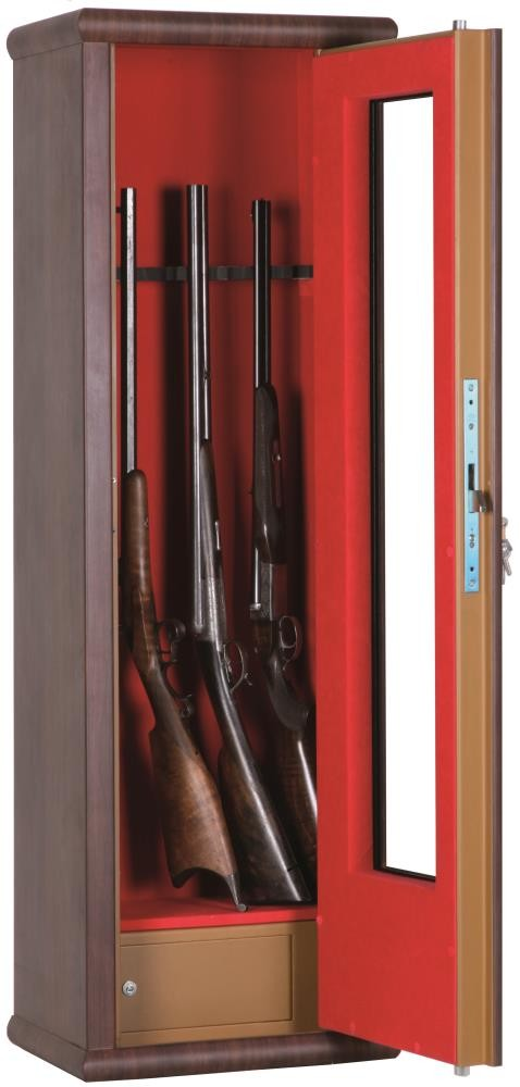 Coffre fort Infac 8 armes vitrine Wood