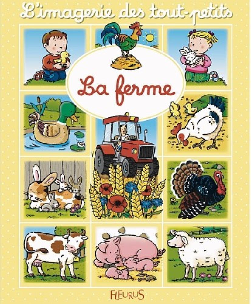 Livre enfant La Ferme Images