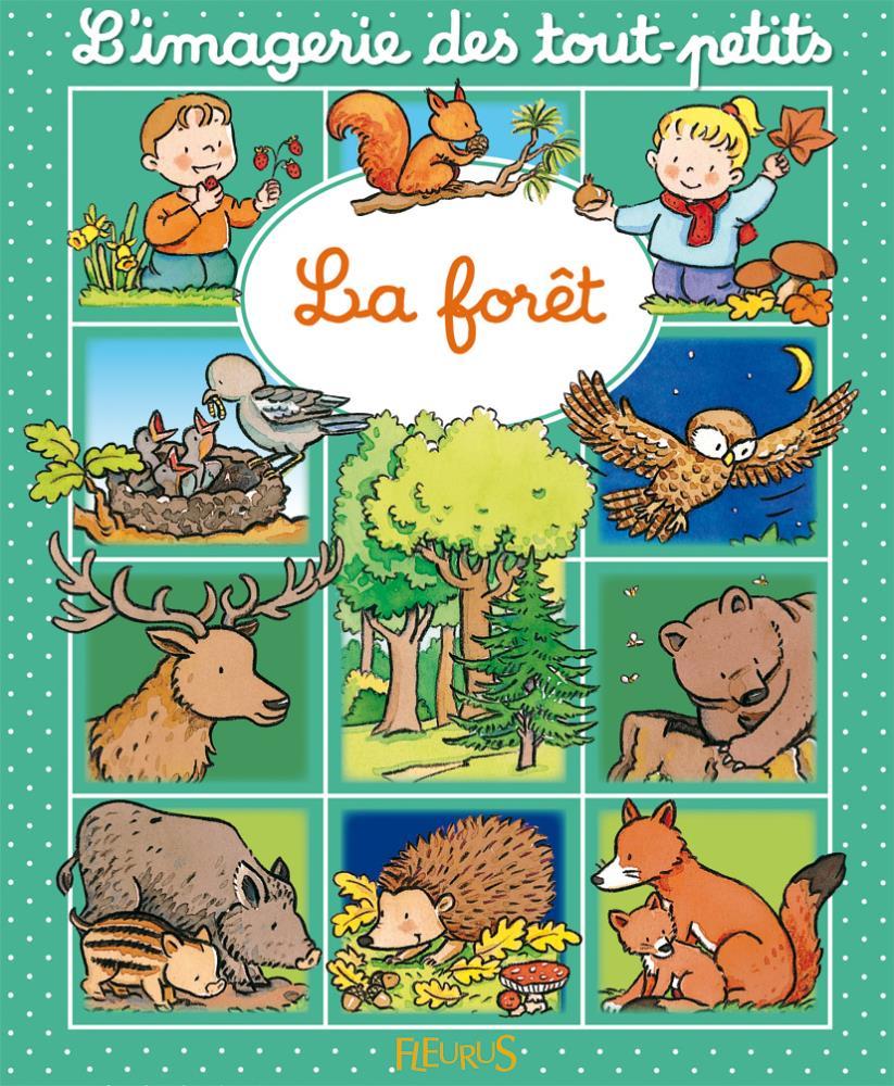 Livre enfant la forêt images