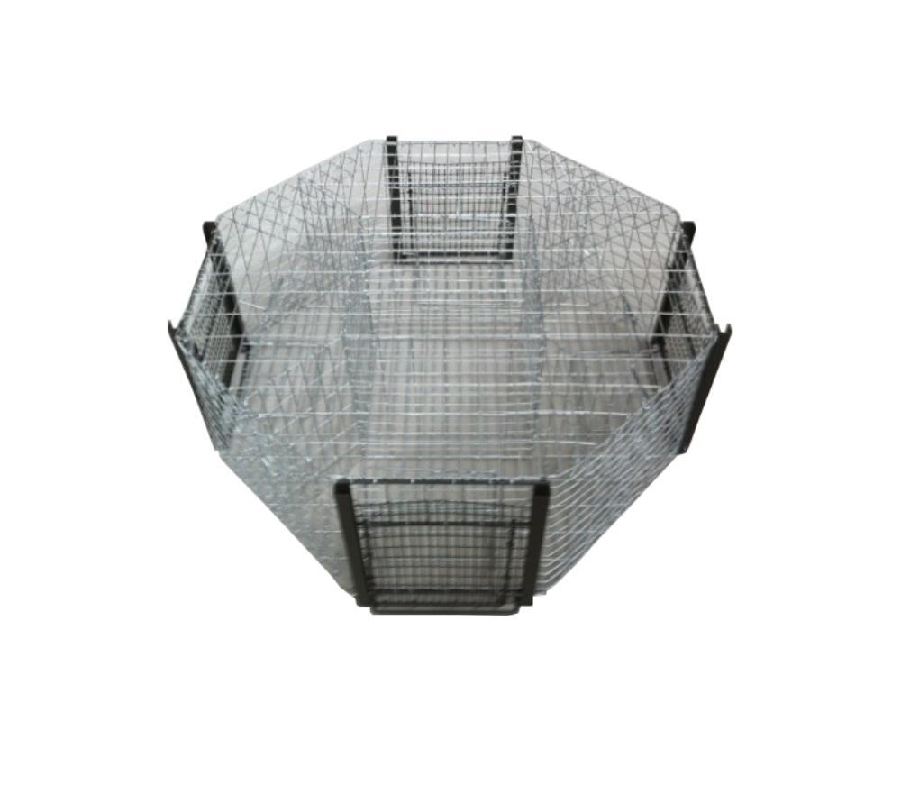 Cage à pie 5 compartiments