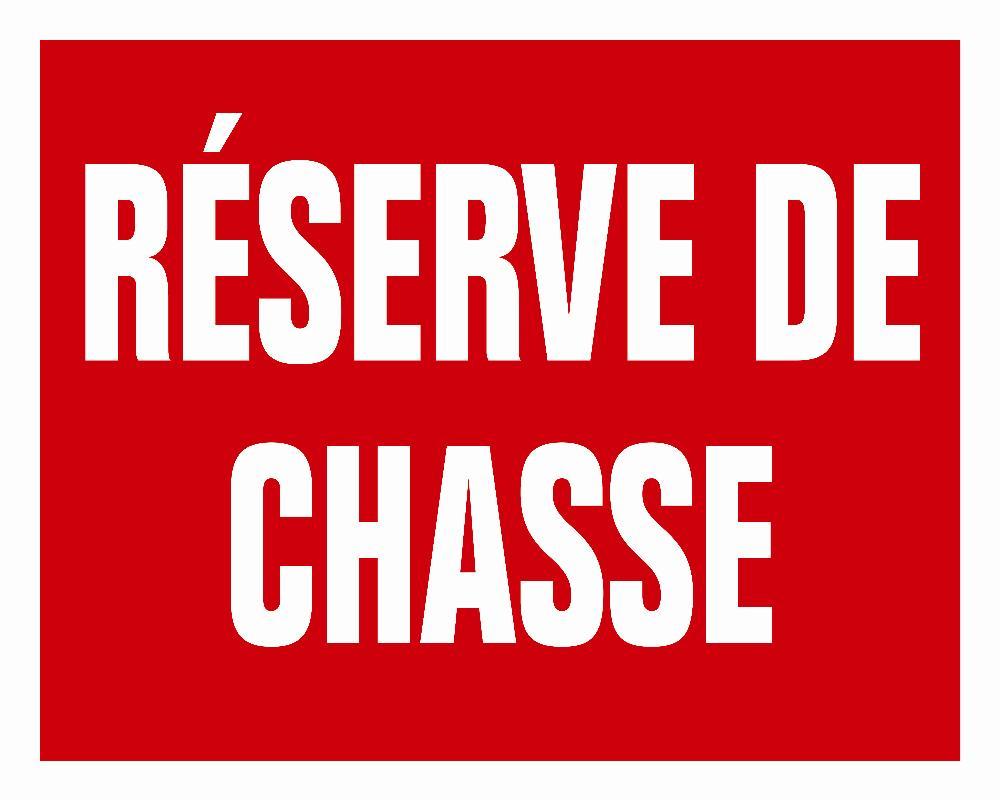 Panneau akilux Réserve de Chasse