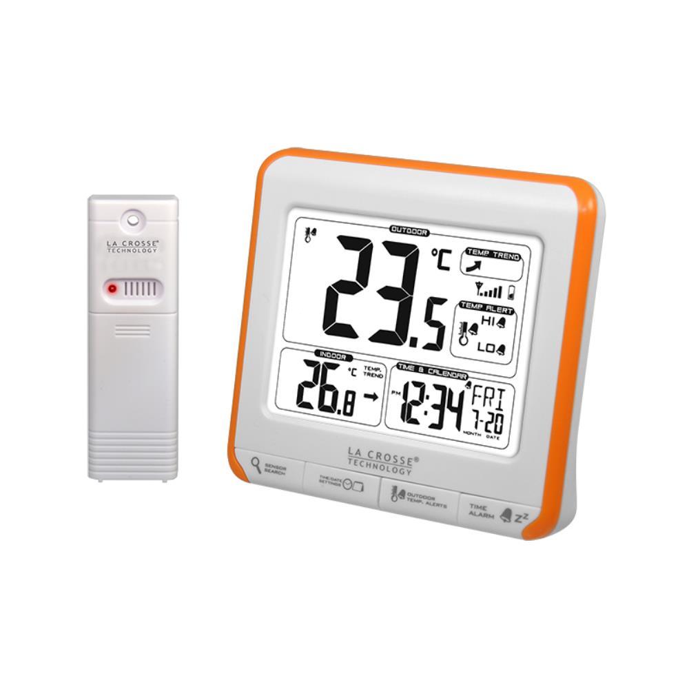 Thermometre int/ext alertes prog