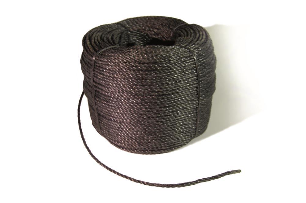 Corde noire 5 mm 300m