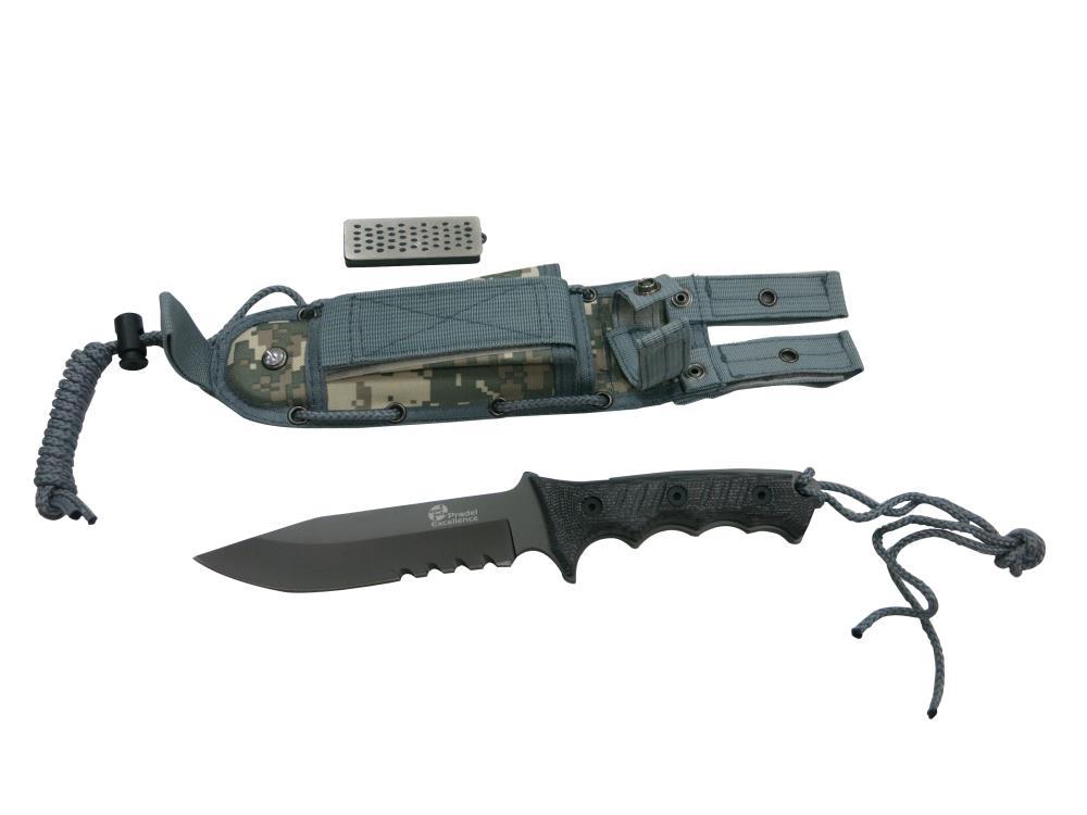 Couteau de chasse étui + affûteur