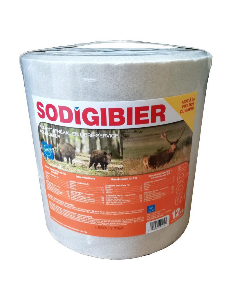 Pierre à sel Sodigibier 12kg