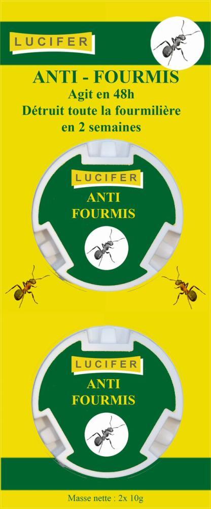 Boîtes anti fourmis x 2