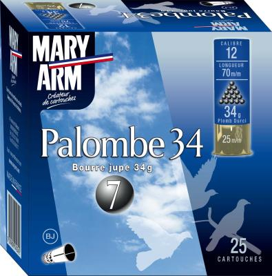 Cartouches palombe 12/34g