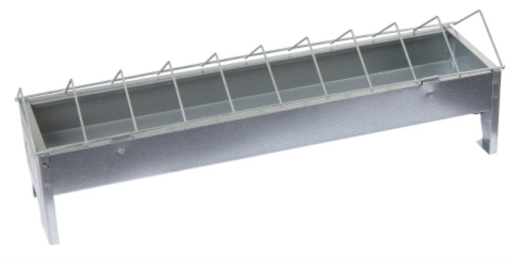 Mangeoire Galva 10 X 50 cm