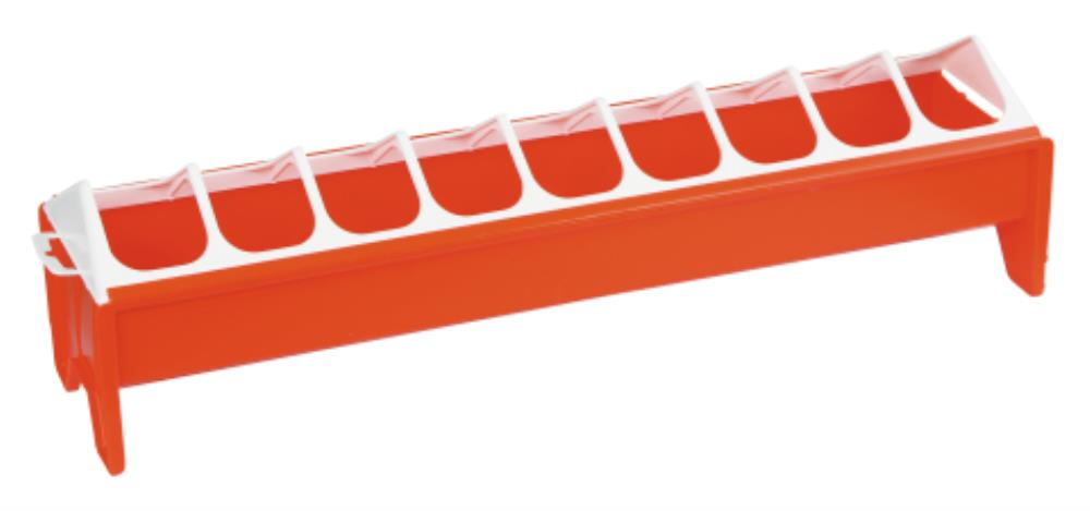 Mangeoire PVC 12 x 50 cm