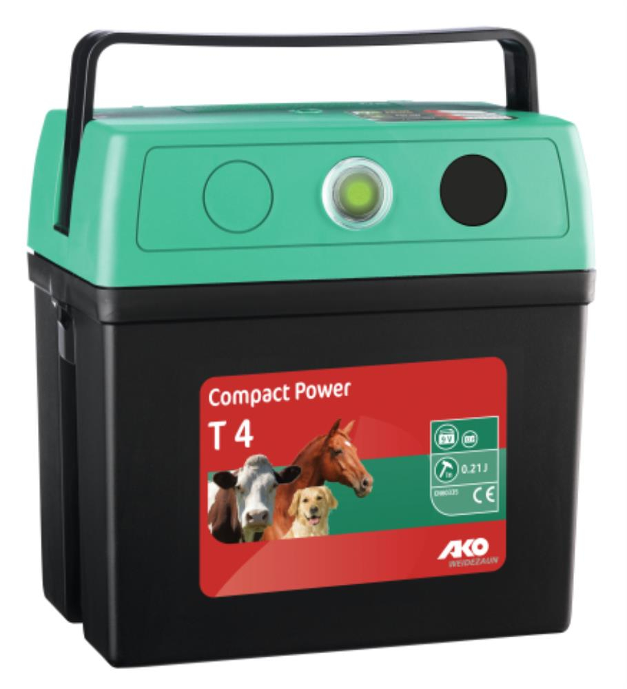 Electrificateur compact power T4 9V