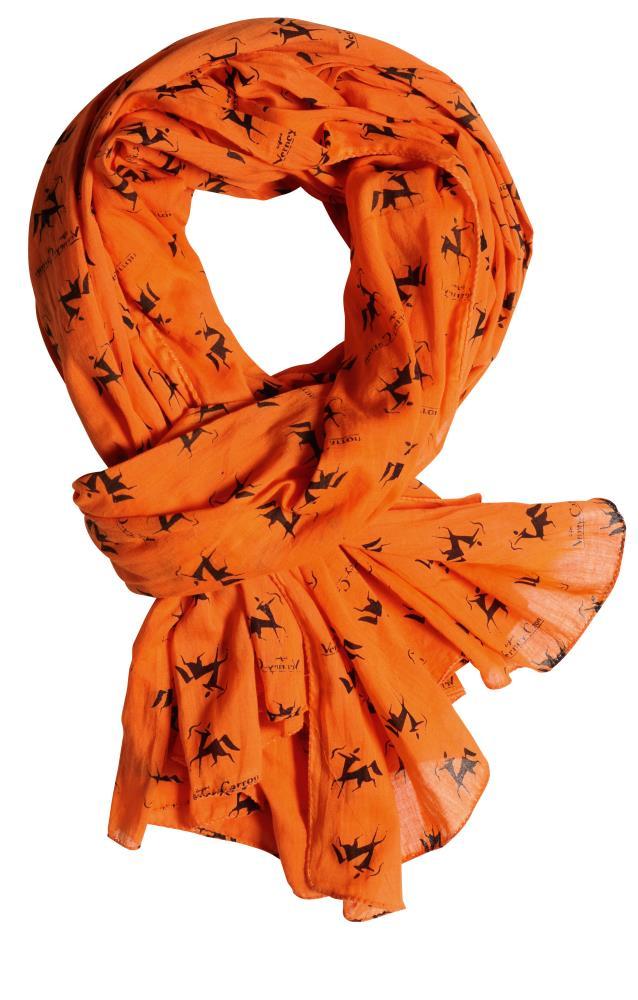 Chèche orange