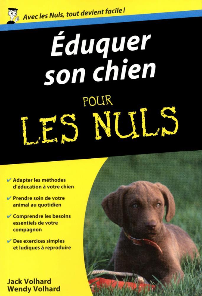 Livre Eduquer son chien pour les nuls