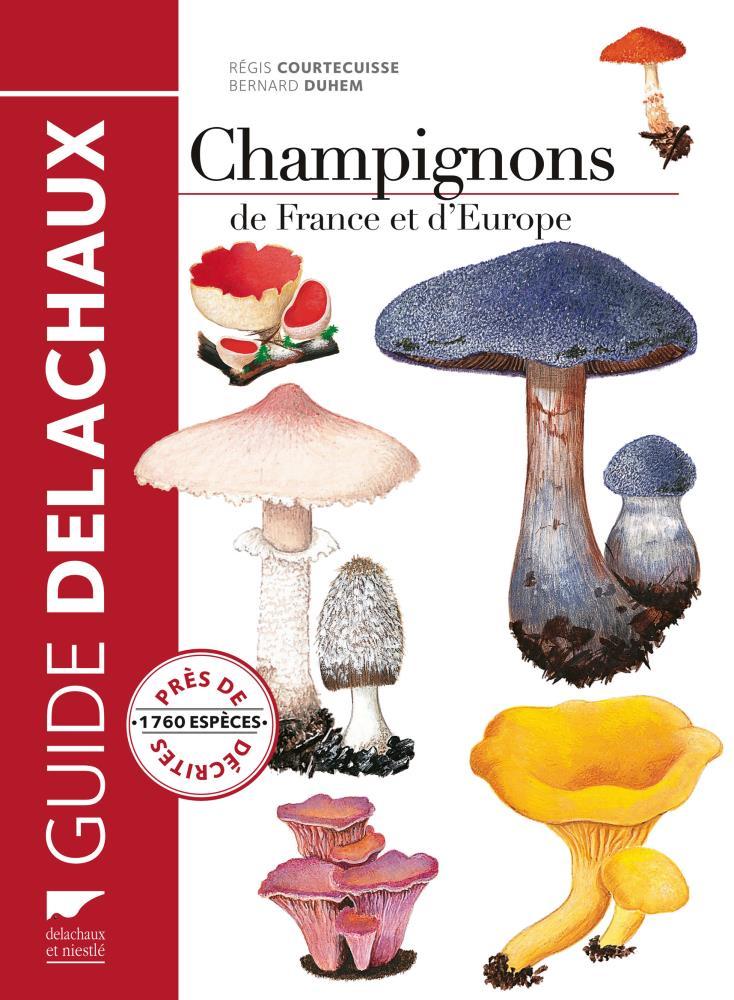 Livre champignons de france et europe