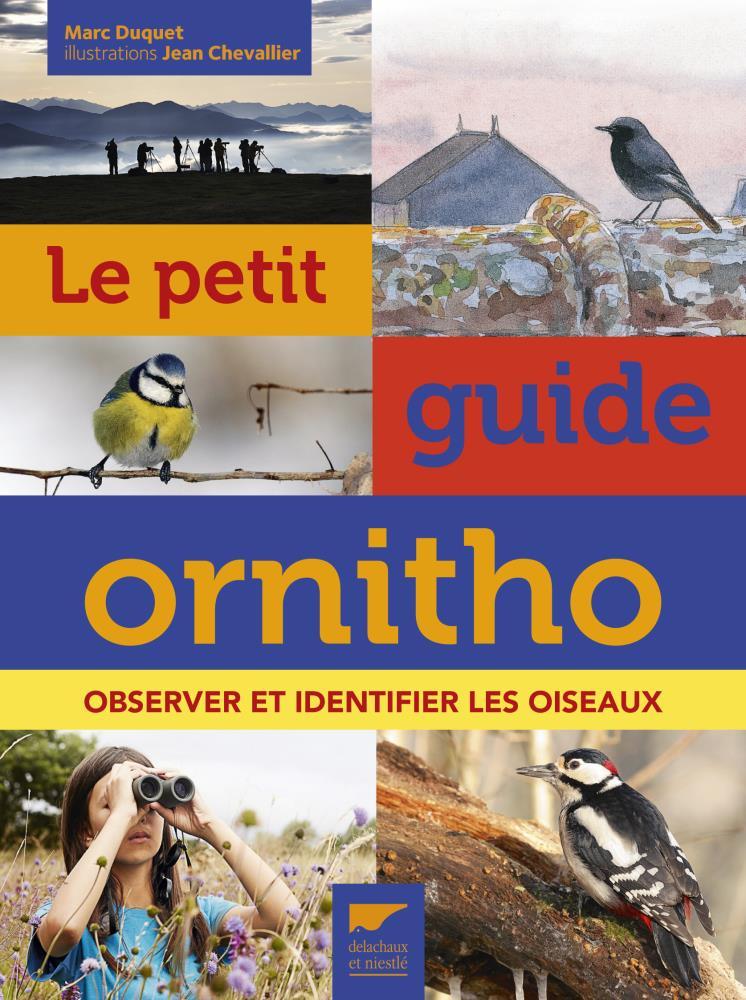 Livre petit guide ornithologique