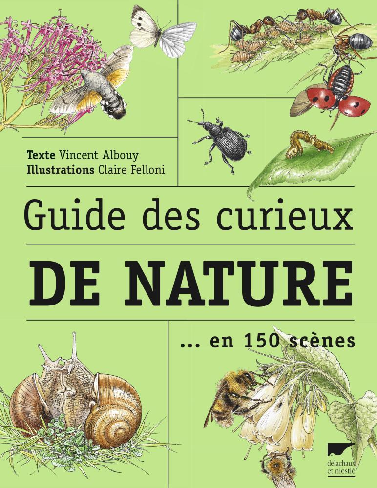 Livre guide des curieux de la nature