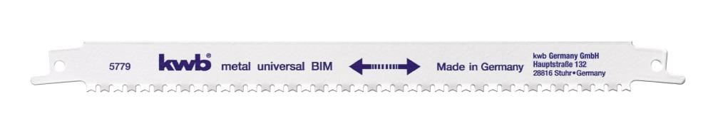 Lame de scie métallique (dente en BIM)