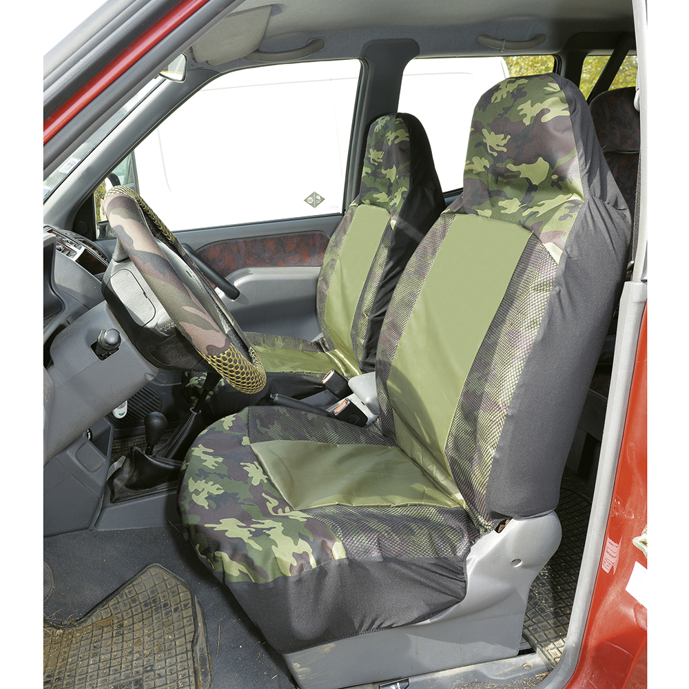 Lot de housses de protection camo
