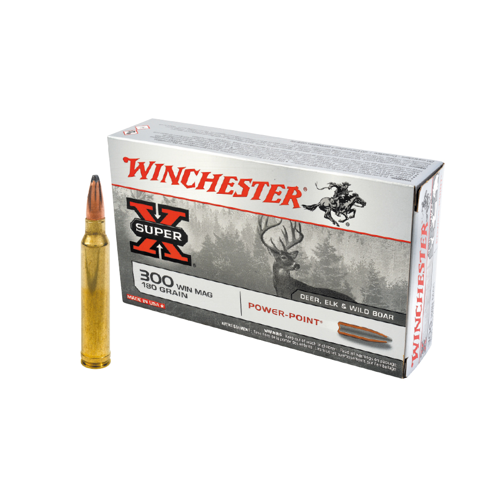 Balles Winchester Power-point cal. 270 WSM
