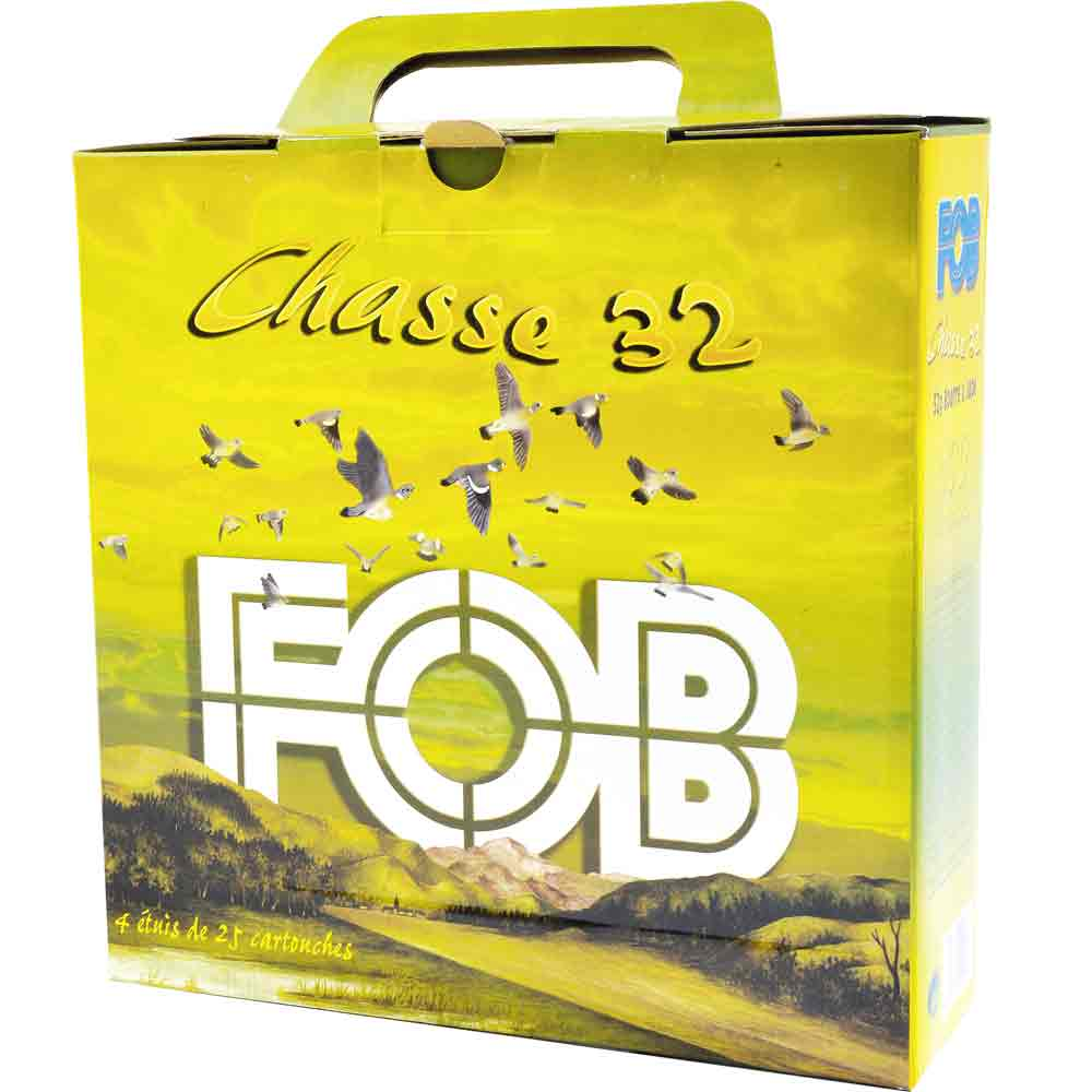 Cartouches pack chasse 32 FOB