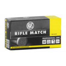 Balles 22 Rifle Match X50