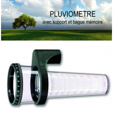 Pluviometre support 0 à 40 mm
