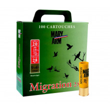 Pack cartouches Mig 20/28g N  5.5 / 6.5