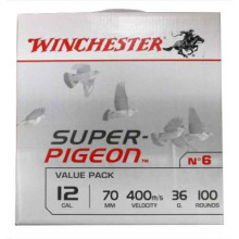 Cartouches super pigeon 12/36g x100