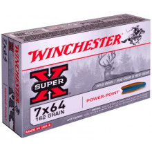 Balles Winchester Power-point cal. 7 X 64