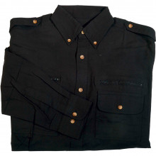 Chemise multipoches noire
