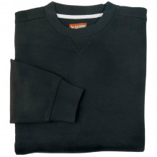 Sweat-shirt uni noir