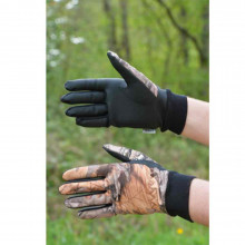 Gants softshell camo 3DX