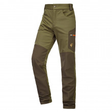 Pantalon Actistretch kaki et marron