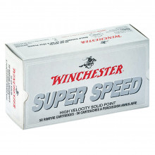 Balles superspeed Winchester