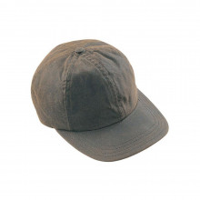 Casquette wax olive