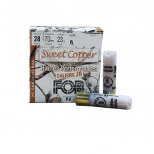 Cartouches sweet copper 28/23g