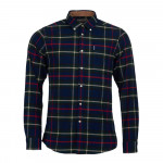 Chemise Highland Check 19 navy Barbour