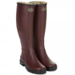 Bottes femme Giverny jersey cherry