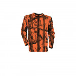 T-shirt camo orange ML