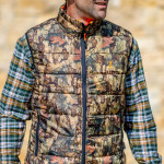 Gilet chasse warm reversible