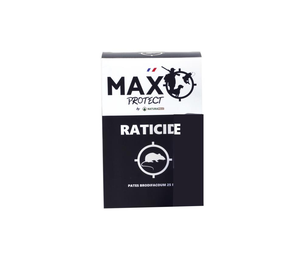 Raticide en pâte Max Protect