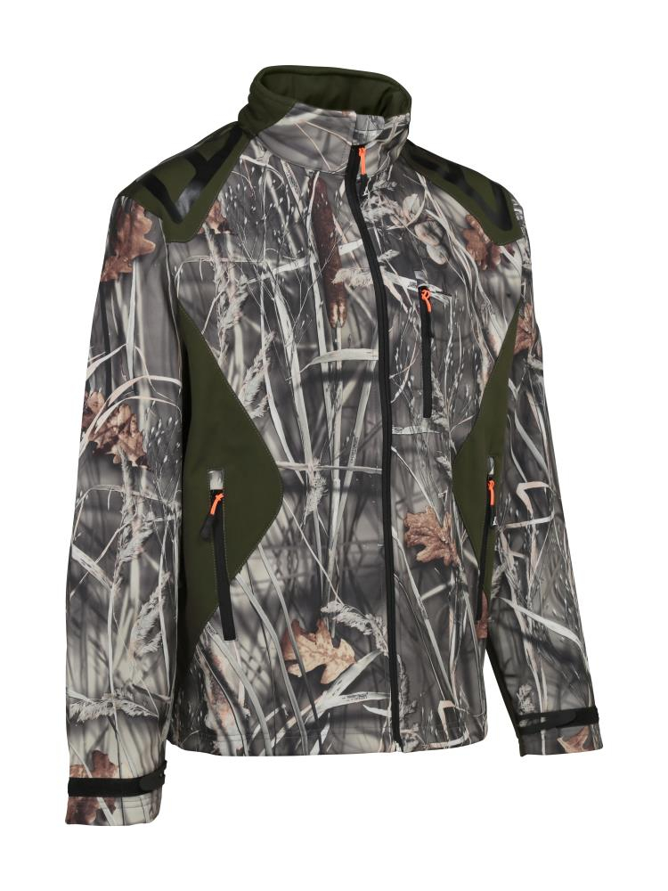 Blouson softshell Percussion GhostCamo Wet