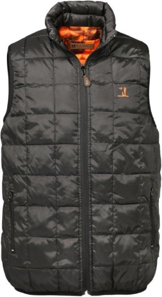 Gilet warm réversible kaki / Blaze & Black